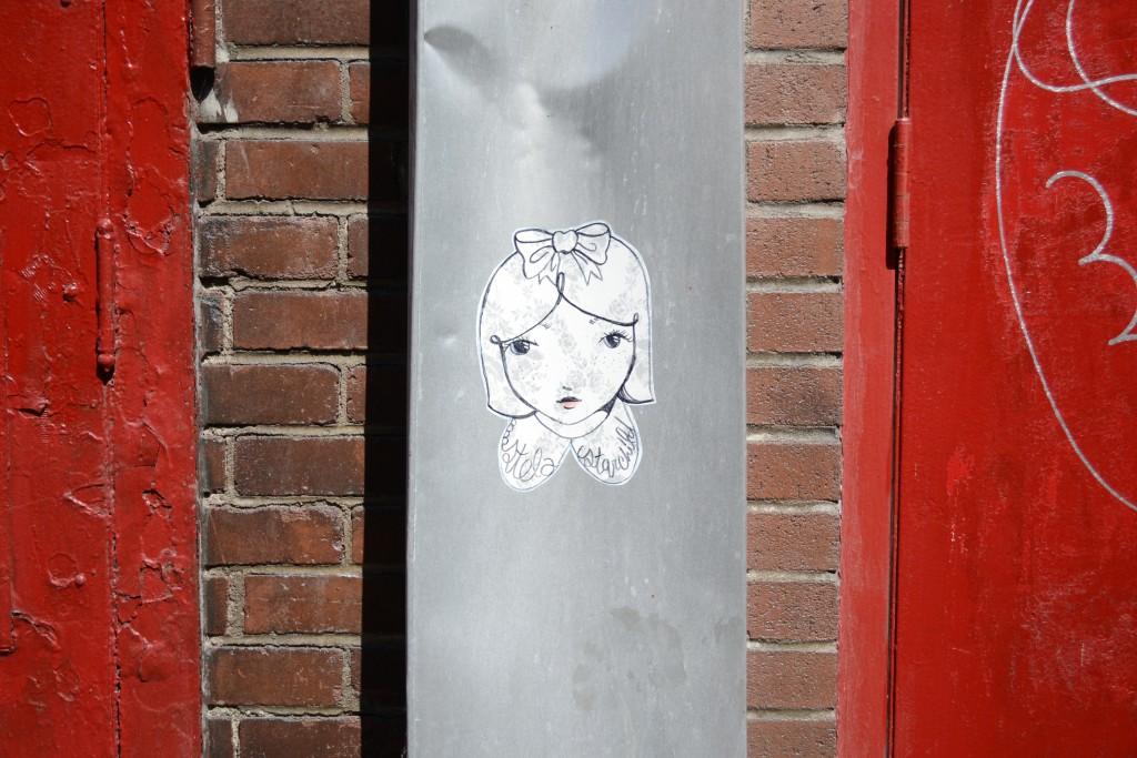 mademoiselle graffiti